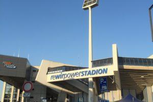 Das Ruhrstadion des VfL Bochum vor einem Spiel