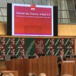 Arbeitnehmerempfang der SPD-Fraktion NRW: Fraktionsvorsitzender Norbert Römer