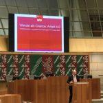 Arbeitnehmerempfang der SPD-Fraktion NRW: NRW-Minister Rainer Schmeltzer (MAIS)