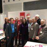 Der Stand der Arbeitsgemeinschaft für Arbeitnehmerfragen (AfA) mit Klaus Barthel (dem Bundesvorsitzenden der AfA) und Bundesministerin Andrea Nahles (Bundesministerium für Arbeit und Sozialordnung) #GuteArbeitVerbindet #SPD