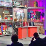 Diskussionsrunde bei der SPD-Arbeitnehmerkonferenz mit Reiner Hoffmann vom DGB, Manuela Schwesig (Bundesministerin für Familien, Senioren, Frauen und Jugend) sowie Thorsten Schäfer-Gümbel von der SPD Hessen. #GuteArbeitVerbindet #SPD