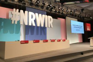 Der Hashtag #NRWIR war das Motto des Landesparteitags #lpt17 der NRWSPD