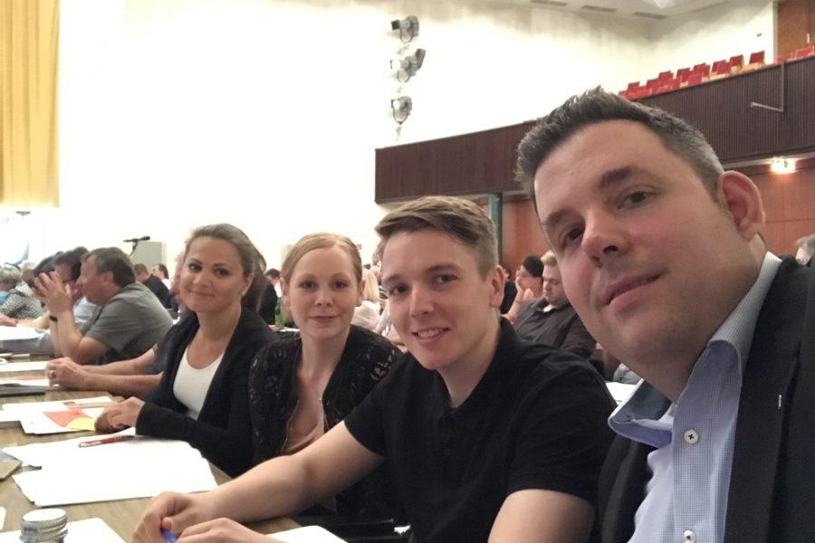 Delegierte der SPD Bochum-Ehrenfeld auf dem Parteitag der SPD Bochum #spdBOpt