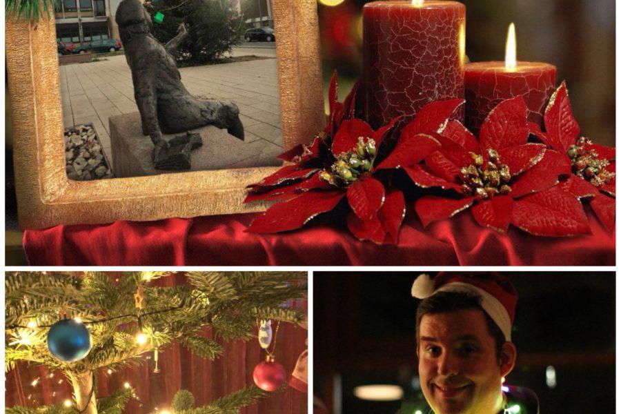 Schöne Weihnachtsfeiertage - und ein gutes Rutsch ins Jahr 2018