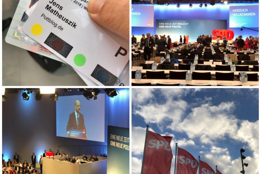 Ein paar Bilder vom außerordentlichen Bundesparteitag der SPD in Bonn #spdbpt18
