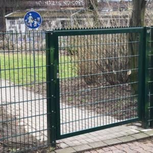 """Das sogenannte """"Franz-Vogt-Törchen"""" zwischen der Franz-Vogt-Straße und der Oskar-Hoffmann-Straße"""