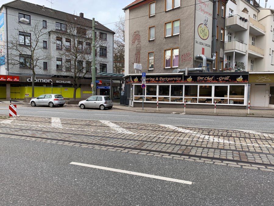 Hattinger Straße im Bochumer Ehrenfeld #boEhrenfeld (teilweise mit Blick auf den Hans-Ehrenberg-Platz)