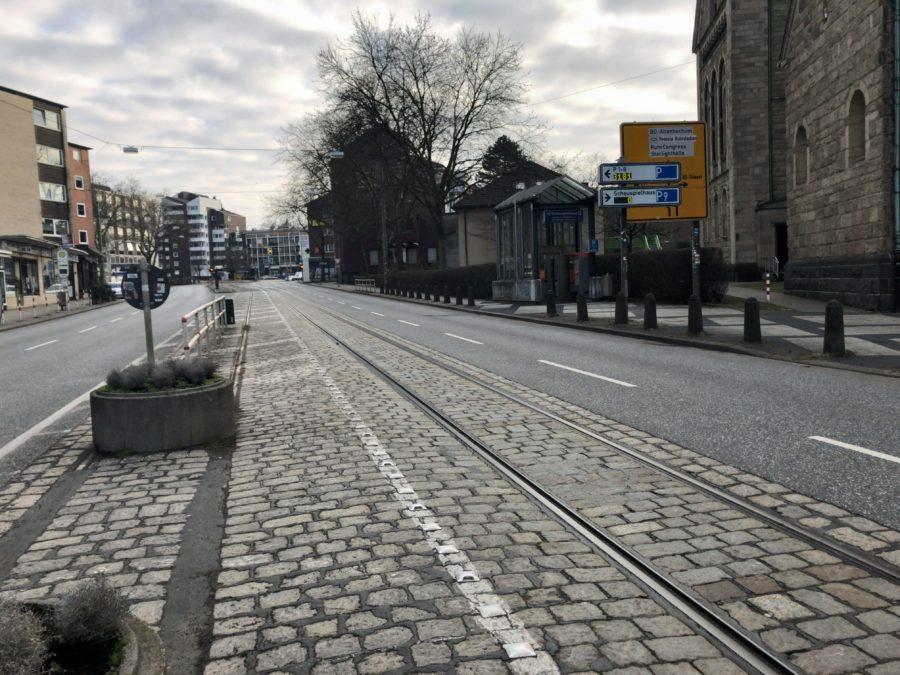 Hattinger Straße im Bochumer Ehrenfeld #boEhrenfeld (in Richtung Schauspielhaus)