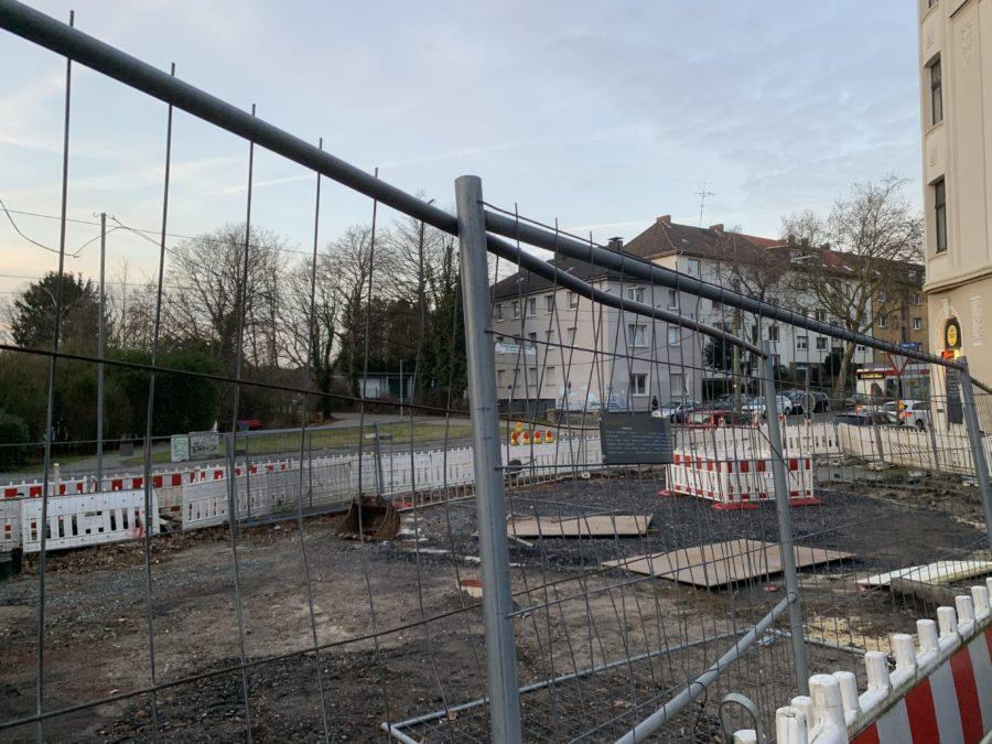 Kanalbaumaßnahme Marbach an der Kulmer Straße im Bochumer Ehrenfeld #boEhrenfeld