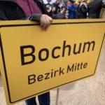 (Maiabendfest 2019) Das Schild Bochum Bezirk Mitte