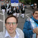 (Maiabendfest 2019) Selfie von Lennart Schnell - auf dem u.a. auch ich (Jens Matheuszik) drauf bin.