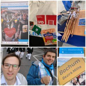 Beim #Maiabendfest 2019 - als Teil der Delegation des Stadtbezirkes Bochum-Mitte #BOmitte