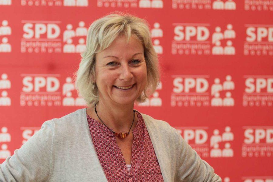 Martina Schnell (SPD), Vorsitzende des Ausschusses für Infrastruktur und Mobilität der Stadt Bochum #boAIM