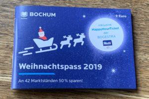 Der Weihnachtspass 2019 von Bochum-Marketing