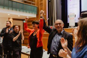 Saskia Esken und Norbert Walter-Borjans (Foto: Julia Meya)
