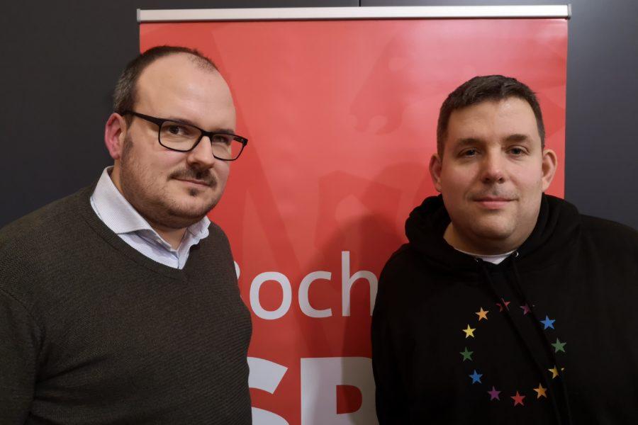Alexander Knickmeier und Jens Matheuszik