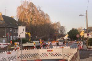 Bochum - Wasserstrasse (Einbahnstrasse) in Richtung A448