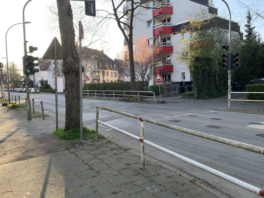 Bedarfsampel an der Friederikastraße