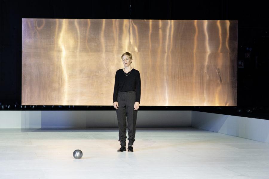 Sandra Hüller - Hamlet (Schauspielhaus Bochum) - (c) JU Bochum