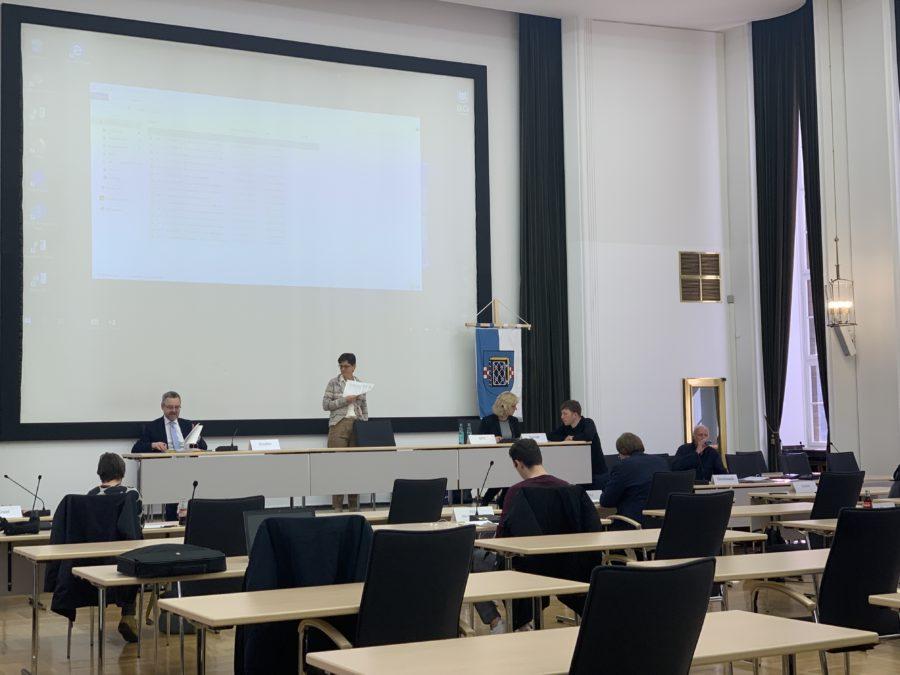 Ausschuss für Infrastruktur und Mobilität der Stadt Bochum im Ratssaal