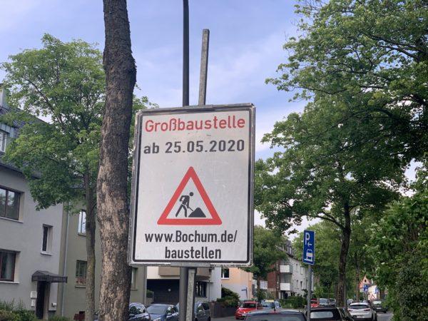 Großbaustelle Friederikastraße (ab 25.05.2020)