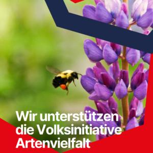 Wir unterstützen die Volksinitiative Artenvielfalt (SPD Bochum-Ehrenfeld)