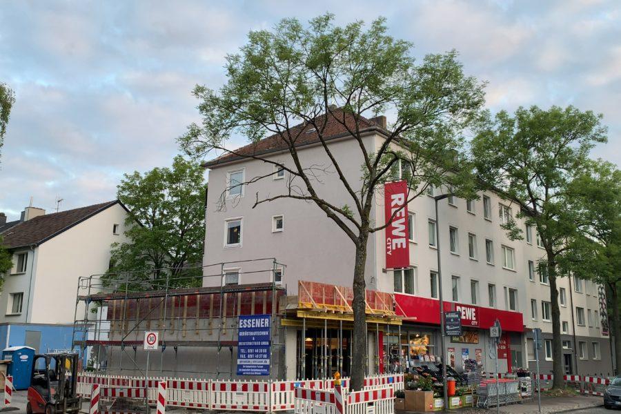 2020-05-29 Erweiterung des Rewe-Marktes an der Königsallee im Bochumer Ehrenfeld