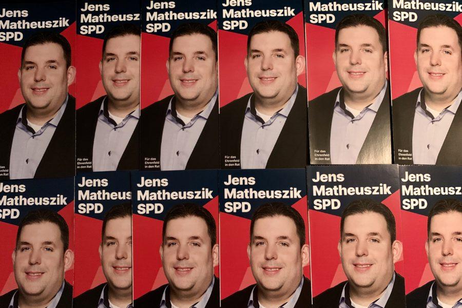 Kandidatenfaltblätter Jens Matheuszik