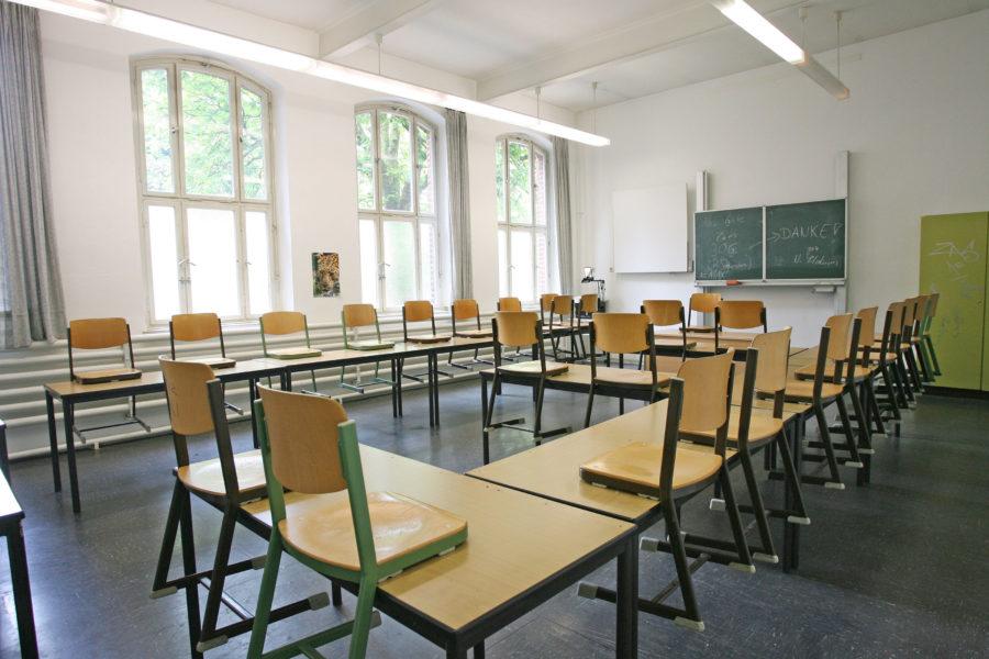 Symbolbild Klassenraum