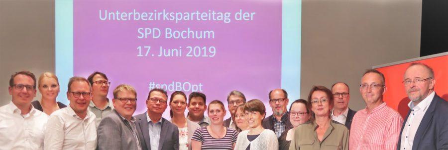 Vorstand der SPD Bochum (gewählt im Juni 2019)