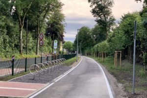 Springorumtrasse: Abstellplätze für Fahrräder in Dahlhausen