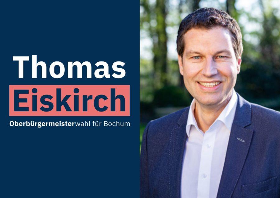 Thomas Eiskirch - Oberbürgermeisterwahl für Bochum