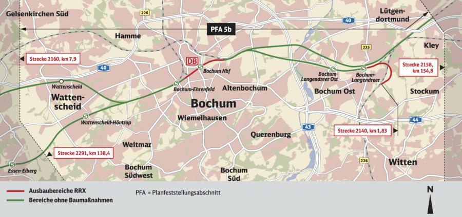 Rhein-Ruhr-Express: Abschnitt 5b (Planfeststellung)