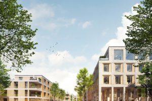 Stilisierte Darstellung: Parkviertel Bochum