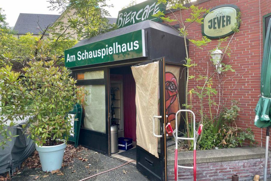 Biercafe (am Schauspielhaus): Eingangsbereich