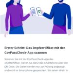 CovPassCheckApp (2): Erster Schritt - Scannen