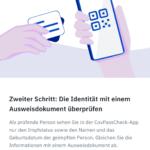 CovPassCheckApp (3): Zweiter Schritt - Überprüfen