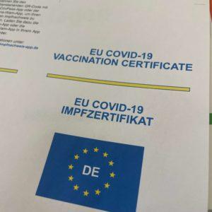 EU COVID-19 Impfzertifikat