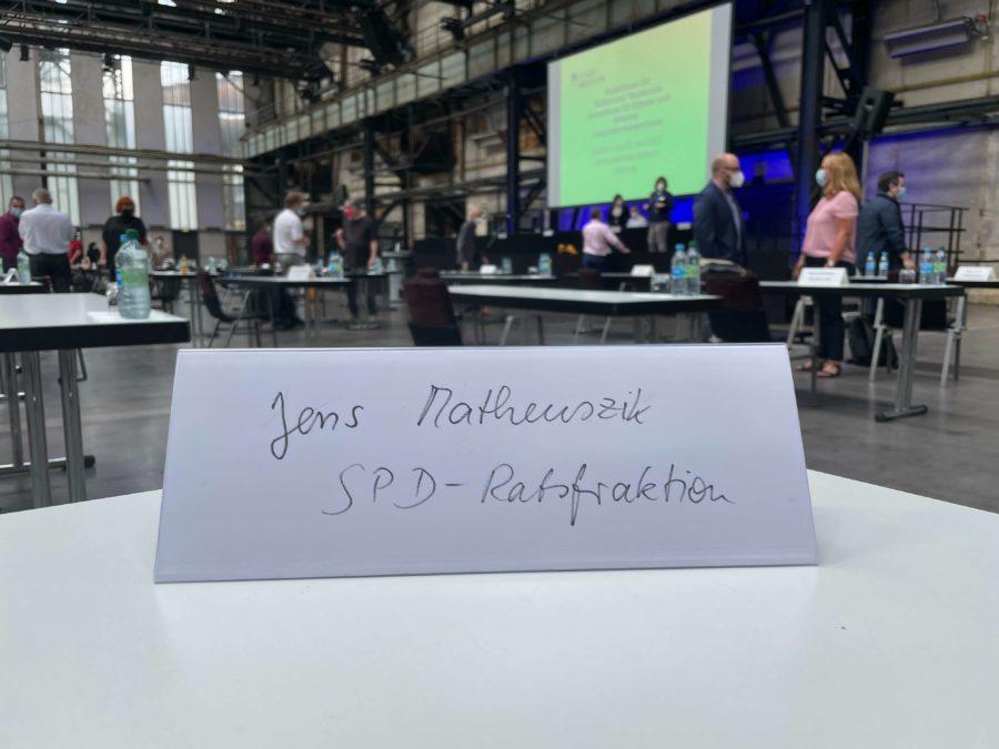 Namensschild (Jens Matheuszik - SPD-Ratsfraktion)