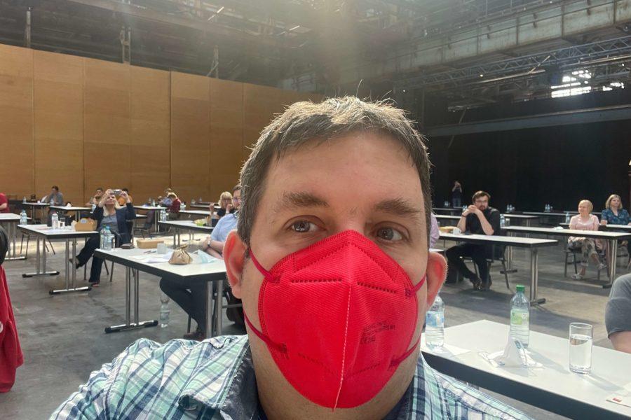 Jens Matheuszik beim Parteitag der SPD Bochum am 26. Juni 2021