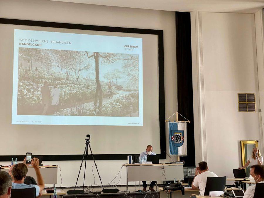 Präsentation Haus des Wissens in der Bezirksvertretung Bochum-Mitte (Sitzung vom 17.06.2021)