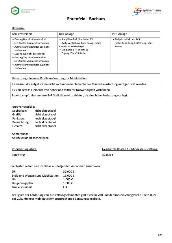 Steckbrief Ehrenfeld - Bochum (Mobilstationen nach VRR-Standard) - Seite 2 von 2