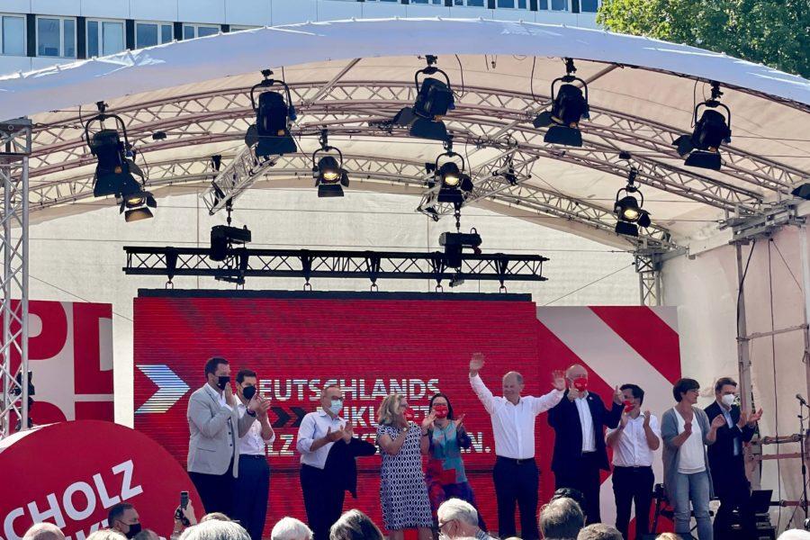 Wahlkampfauftakt der SPD in Bochum (14.08.2021)